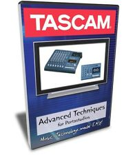 Tascam Advanced Techniques for Portastudio Training DVD