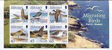 Alderney 2005 Scott 261a Birds Sheet - NH