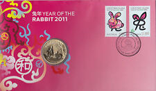 "2011 $1 PNC: Lunar Series -  ""Year of the Rabbit."""