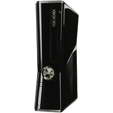 Microsoft XBOX 360 S Slim Glossy Black System- REPLACEMENT CONSOLE ONLY