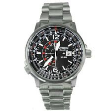New Citizen Promaster NightHawk BJ7010-59E Eco-Drive Pilots Watch
