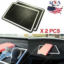 2x Large Non-Slip Sticky Mat For Car Dashboard For Phone Key Sunglasses & More