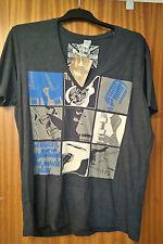 Men's Tipster guitar music themed T-shirt size XXL BNWT