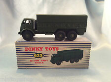 Dinky Toys  no. 622  10-Ton Army Truck   Militairy  ovp