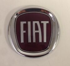 FIAT DOBLO 05  REAR TAILGATE BADGE NEW RED FIAT LOGO 95mm FIAT 500