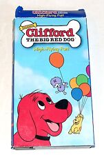 Clifford the Big Red Dog VHS High Flying Fun  2001 2 Stories