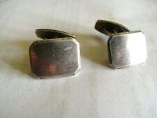 Alte  Herren  Manchettenknöpfe  Art Deco  835 Silber  8