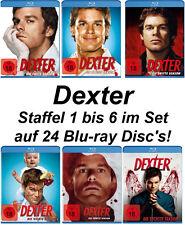 24 Blu-rays * DEXTER - STAFFEL / SEASON 1 - 6 IM SET  #  NEU OVP