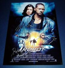 I ROBOT CAST x4 PP SIGNED POSTER 12X8 WILL SMITH