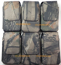 CAMO NYLON HOLSTER VERTICAL POUCH OTTERBOX IPHONE 4 4S COMMUTER REFLEX LIFEPROOF