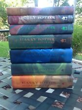 Harry Potter Complete Set Books 1-7 1st American Edition Hardcover/Dust Jacket