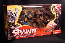 Samurai Warrior + Takeda SPAWN McFarlane Samurai Wars CLUB EXCLUSIVE 2 Pack