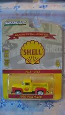 GREENLIGHT ANNIVERSARY S4 1956 FORD F-100 100 YEARS OF SHELL  NEW IN STOCK c