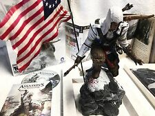 ASSASSINS CREED III 3 AC3 Limited Collectors Edition PS3 COMPLETE, Connor Statue