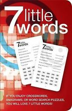 7 Little Words Bk. 1 : 100 Puzzles by Christopher York and Blue Ox...