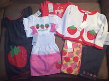 NWT Toddler Girls Gymboree 18-24m 18m Strawberry 7pc Set New $170