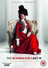 The Scandalous Lady W. BBC. Dvd. Region 2. Natalie Dormer. Shaun Evans
