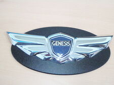 Front Grille Wing Logo Badge Emblem For 08 ~13 14 2015+ Hyundai Genesis Coupe