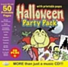 Halloween Party - Music CD +  50 Printable Extras / Games  - Free Postage in UK