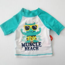 Old Navy Boy Swimwear Monster 'Muscle Beach' - 6-12 mo - New with Defect