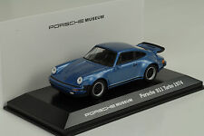 1974 PORSCHE 911 930 Turbo 3.0 geminiblau Museo 1:43 Map