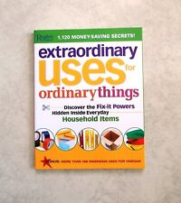 EXTRAORDINARY USES FOR ORDINARY THINGS READER'S DIGEST OVERSIZED PAPERBACK NEW