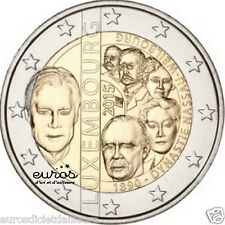 Pièce 2 euros LUXEMBOURG 2015 - 125 ans de la dynastie de Nassau-Weilbourg - UNC