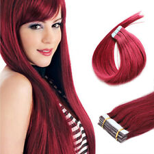 Seamless PU Skin Weft Tape in Remy Human Hair Extensions 16''-26''20-40Pcs Style