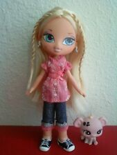 Girlz Girl Bratz Kidz Kid Cloe Doll Blonde Hair Blue Eyes Original Clothes Shoes