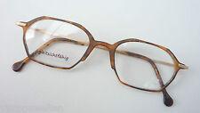 Argenta Superleicht-Brille Brillenfassung GR:L Hornoptik Metallbügel frame braun