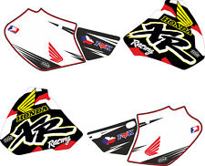DECAL STICKER KIT IN MX VINYL FITS HONDA xr 400r  (NON OEM) 98 99 00