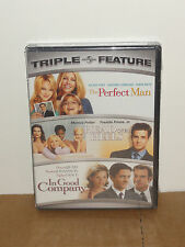 The Perfect Man / Head Over Heels / In Good Company (DVD) TRIPLE FEATURE! NEW!