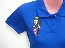 Couple Polo Shirts Prince - Princess Size Small Medium Large XL His - Hers Blue