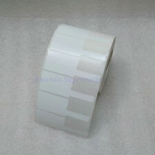 Network Cable Label Sticker 70*24mm 1000pc  White P Shape Waterproof