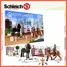 SCHLEICH ADVENT CALENDAR CHRISTMAS HORSE SHOW SET NEW FOR 2015 97051