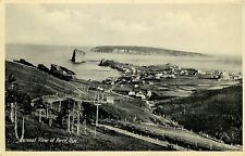 Vintage Postcard General Town View of Percé Quebec Canada Gaspé Peninsula Posted