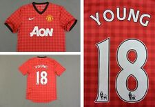 2012-13 nike Manchester United Home Shirt YOUNG 18  SIZE S (adults)