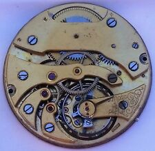 Longines Unsigned Pocket Watch Movement and Dial Balance Swings 39 mm F4297