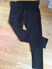 Victoria's Secret Pink Large Black Yoga Pants