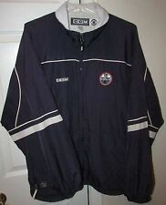 NHL Edmonton Oilers Full Zip Jacket XL by CCM EUC