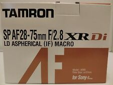 NEW TAMRON SP AF 28-75mm F/2.8 XR Di LD Aspherical[IF]MACRO Model A09 for SONY A