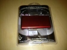NEW Protective Aluminum Armor Crimson Red W/ Screen protector for DS Lite System