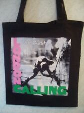 THE CLASH 'LONDON CALLING' COTTON TOTE BAG