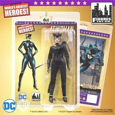 "Batman CATWOMAN Black Costume 8"" Figure Retro Mego Gold Series FTC LE500 2017"