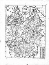 Antique maps, Fontis Nili fluminis eorumque situs, Scherer, 1710