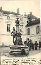 CPA Longjumeau-Le Postillon-Monument Adolphe Adam (180397)