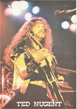 """Ted Nugent-lead guitar for the Amboy Dukes(pictured playing """"left-handed""""guitar!"""