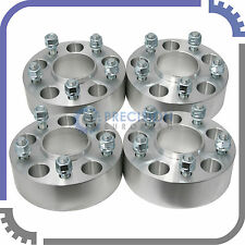 "4pc 2.0"" 5x5 to 5x5 Hubcentric Wheel Spacers 1/2"" Stud - Grand Cherokee WJ WK 2"""