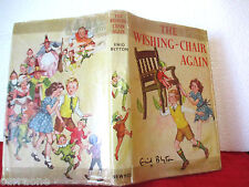 Enid Blyton THE WISHING CHAIR AGAIN 1965 HCDJ Hilda McGavin illus RARE