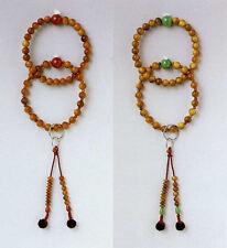 JODO SANMAN JUZU Buddhist beads sandalwood Agate / Jade
